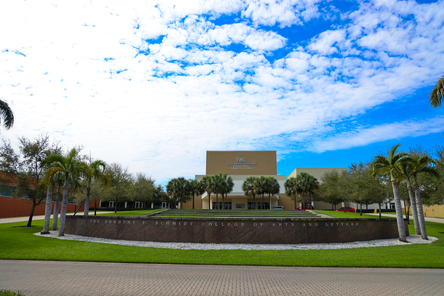 FAU College of Arts & Letters Dorthy F. Schmidt University Theater